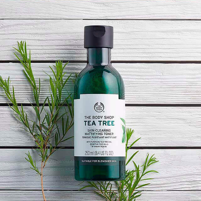 Image result for the body shop tea tree