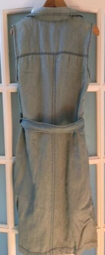 Denim 65 Holland Henry Sleeveless Rrp Size8 Bnwt £ Duster gtnqzS1B