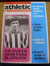 20/10/1977 Club Atlético Bilbao: órgano Oficial Atlético de información-No.125
