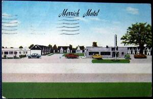 Image Is Loading Rusville Arkansas 1950 039 S Merrick Hotel Old