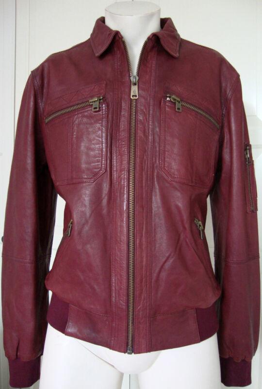 Alexander Mcqueen Leather Jacket Designer Herren Lederjacke Gr.52 Neu Mit Etiket