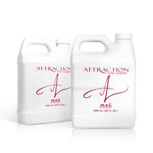 nsi Attraction Nail Acrylic Liquid 32oz 946ml x 2
