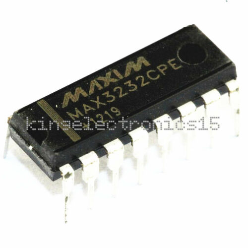 10PCS MAX3232CPE MAX3232 DIP-16 MAXIM CHIP IC NEW