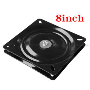 Details About 8 Inch Heavy Duty Bar Stool Swivel Plate Chair Replacement Steel Square