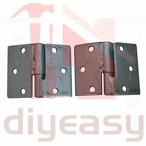 1 Pair of Steel Ball Hinge 150kg Left Bolt/Bolt Gate Heavy Duty