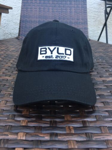 BYLD Lifestyle Performance Cotton Dad Hat Vintage Retro Athletic Gym Fitness