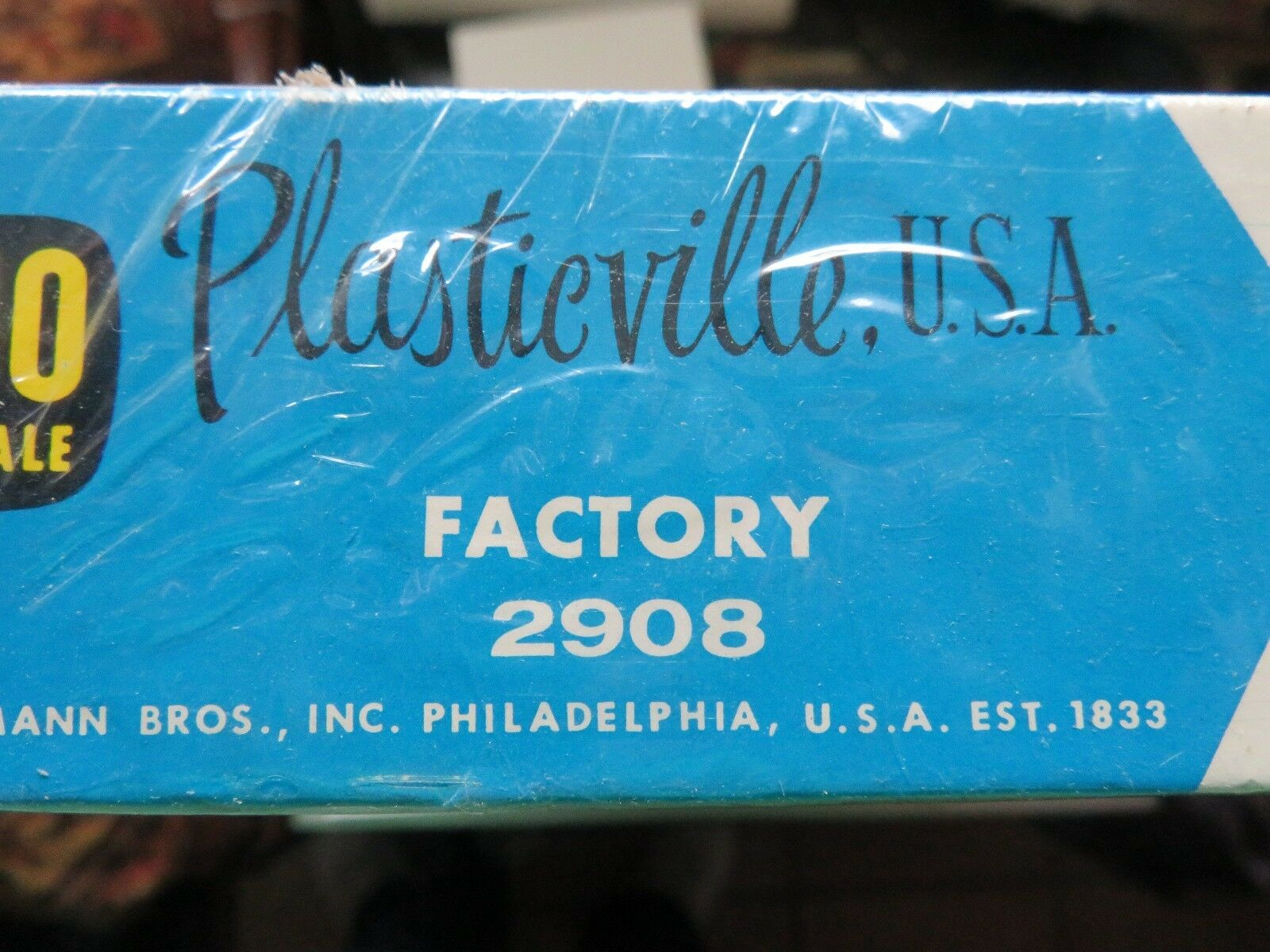 BACHMANN PLASTICVILLE - HO SCALE, FACTORY 81300f - wimswt