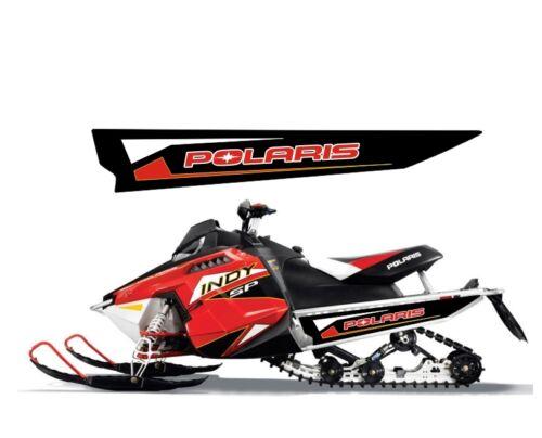 POLARIS 550 600 800 INDY SP LE 120 144 TUNNEL DECAL STICKER 2014 2015 2016 black