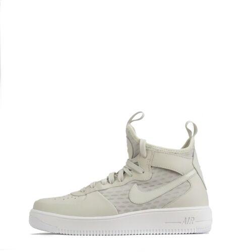 Mid os à Nike Air Homme de formateurs la cheville pour Force Chaussures en 1 Ultraforce clair NO0PX8nkwZ