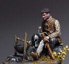 Figurino 75mm TARTAR MINIATURES 75-60 Medieval knight at rest