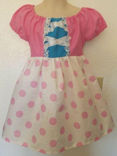 #25 Handmade Disney Toy Story Little Bo Peep dress up// costume// Dress 3mo-10Y