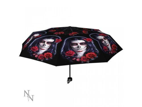 SUGAR SKULL ombrello da James RYMAN Nemesis Gotico Giorno dei Morti Regalo di Natale