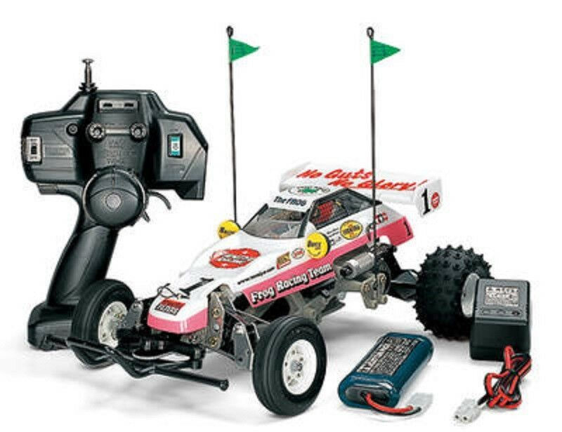 Tamiya 1 10 XB Series No.56 XB Mighty Frog RC Drive Set Complete Model 57756
