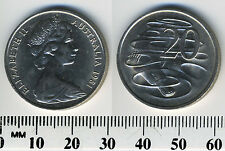 Australia 1981 - 20 Cents Copper-Nickel - Queen Elizabeth II - Platypus