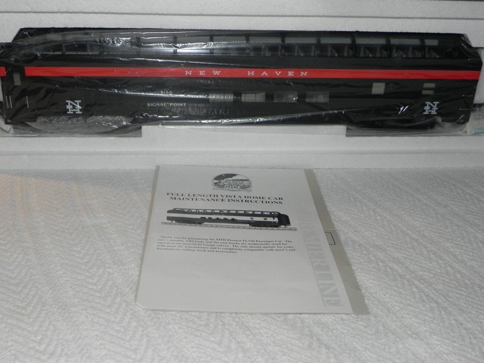 MTH 20-6762 New Haven 70' ABS longitud total coche pasajeros de cúpula de vista [] Suave