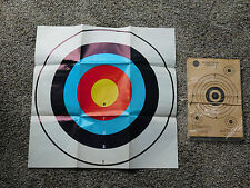 TARGETS VINTAGE ARCHERY BB GUN SEARS, ROEBUCK & CO. HUNTING SHOOT SHOOTING SPORT