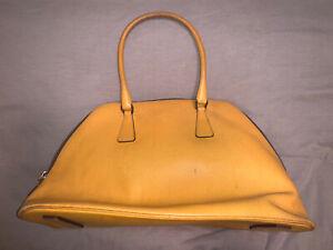Vintage-Yellow-Prada-Handbag