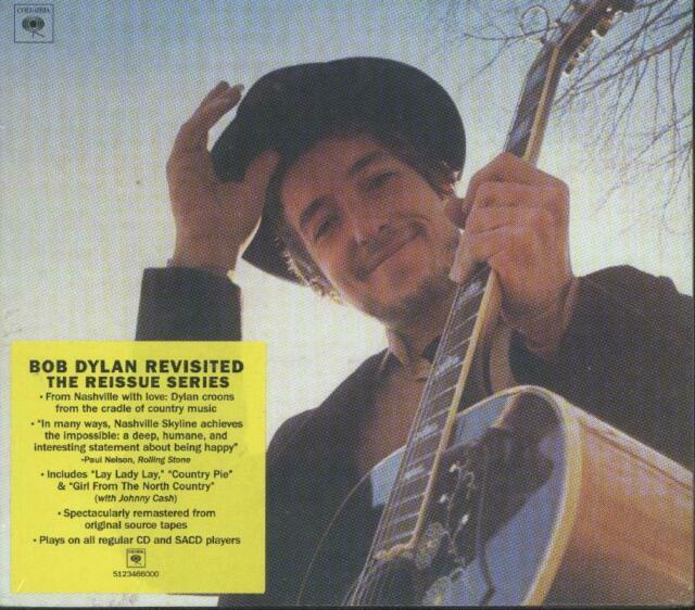 SACD Bob Dylan - Nashville Skyline - in regulären CD- / SACD-Playern abspielbar