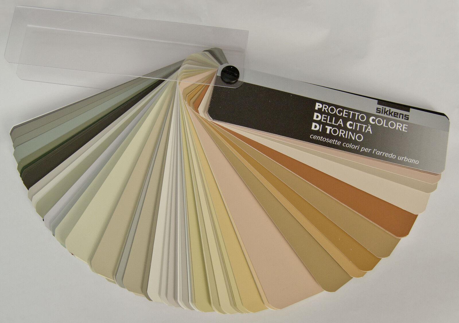 Tabella Colori Sikkens Ral mazzetta sikkens vernici e pitture piano colore della citta