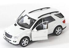 BLITZ VERSAND Mercedes ML 350 weiss / white Welly Modell Auto 1:34 NEU & OVP