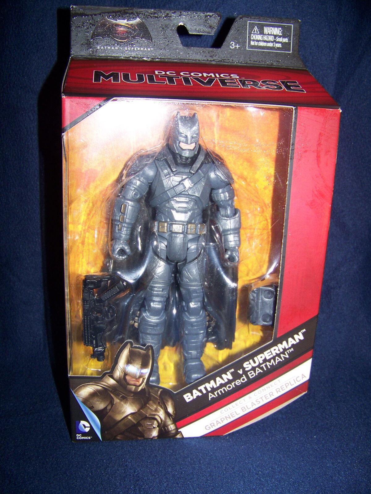 DC Multiverse BvS BvS BvS  6  ARMORED BATMAN ACTION FIGURE  Batman v. Superman 89ee8e