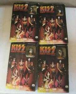 1978 Mego Kiss Doll MIB Complete Set of 4 Gene Paul Ace & Peter No Reserve!
