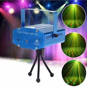 Mini Proiettore Effetto Luci Laser Per Disco Discoteca Dj.Mini Proiettore Laser Effetto Luci Per Disco Dj Discoteca Feste