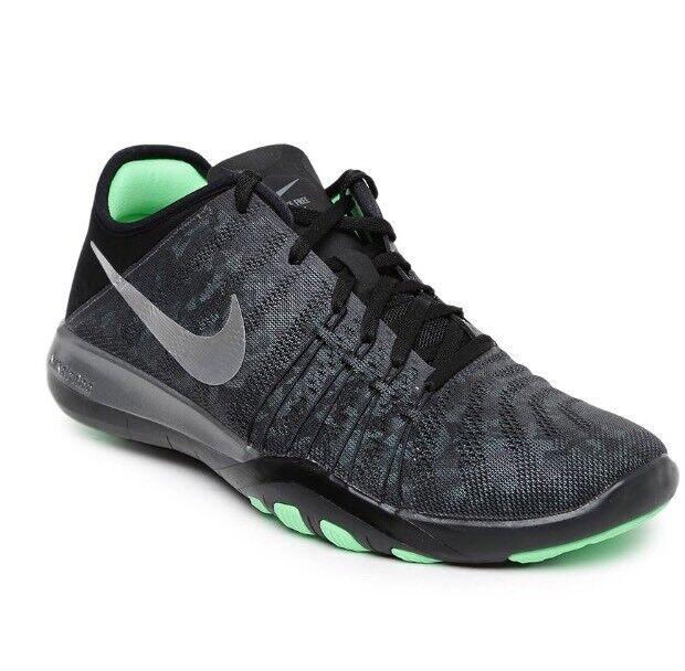 Women's Nike Free TR 6 mtlc UK 4 EUR 37.5 Gris foncé/argent métallisé