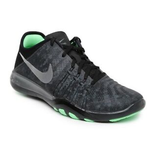 559635f8d3d9 Women s Nike Free TR 6 MTLC UK 4 EUR 37.5 Dark Grey Metallic Silver ...