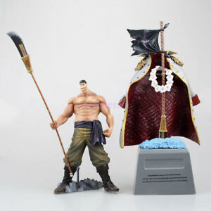 One Piece Anime White Beard Edward Newgate /& Tomb Figure Statue Model Toy Doll