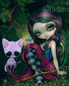 Jasmine-Becket-Griffith-art-BIG-print-pop-Sugar-Fueled-cat-SIGNED-Sweet-Dreamers