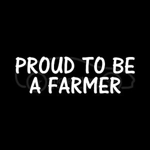 PROUD-TO-BE-A-FARMER-Sticker-Farm-Vinyl-Decal-Chicken-Dairy-Pig-Cow-Crops-Corn
