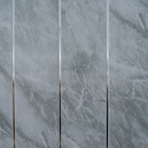 plastic tile sheets bathroom grey marble amp chrome bathroom cladding panels pvc kitchen 20001
