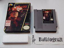 A Nightmare on Elm Street NES Nintendo Game w/ Box