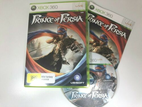 Prince of Persia XBOX 360 Video Game Like New Condition With Manual