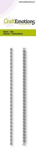 Chain Rope Border Stencil Dies Universal Cutting Embossing Machine Sizzix Crafts