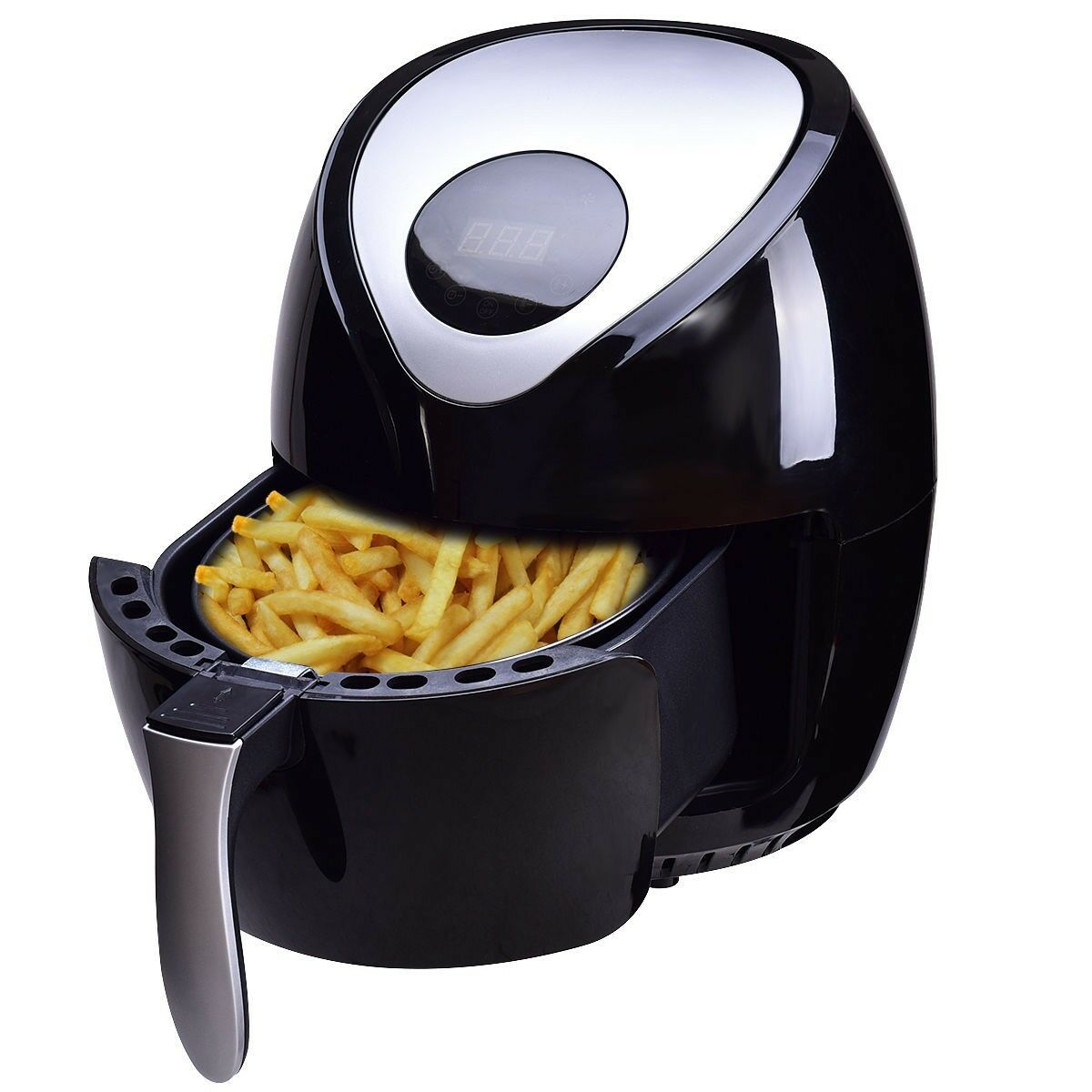 Auto Electric Air Fryer Digital Touch Screen Temperature Control Kitchen Home