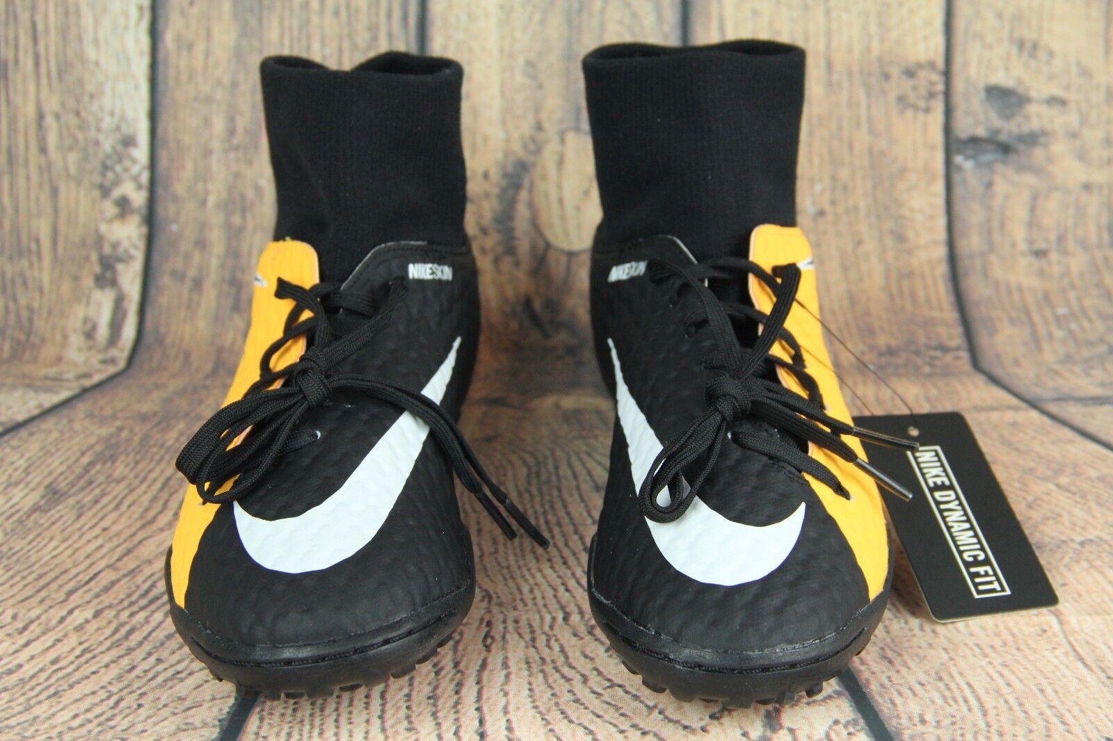NIKE HyperVenom X Phelon 3 DF TF Mens Soccer shoes orange 917769-801 Sz 6.5