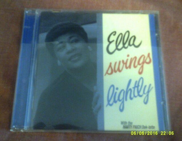 ELLA FITZGERALD-SWINGS LIGHTLY CD