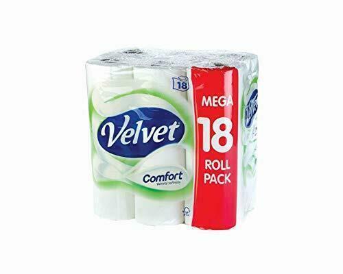 60 Toilet Rolls 2 Ply Budget Job Lot