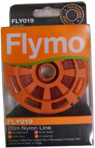 Genuine Flymo 20m Nylon Strimmer Line FLY019 5148437-90
