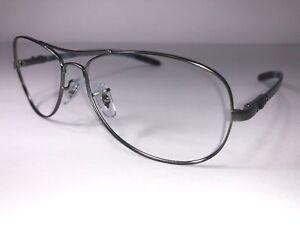 a15135803a2 Ray-Ban RB 8301 Eyeglasses 029 98 Carbon Fiber Designer Frame Men ...
