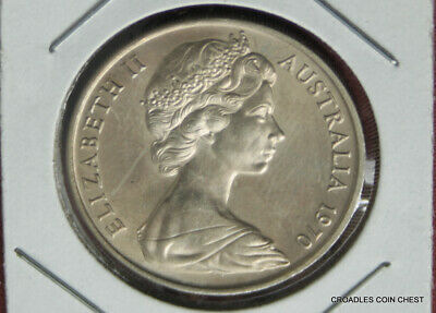 **1995 Scarce Australian Platypus obverse 20 cent coin UNC mintage 132269  **