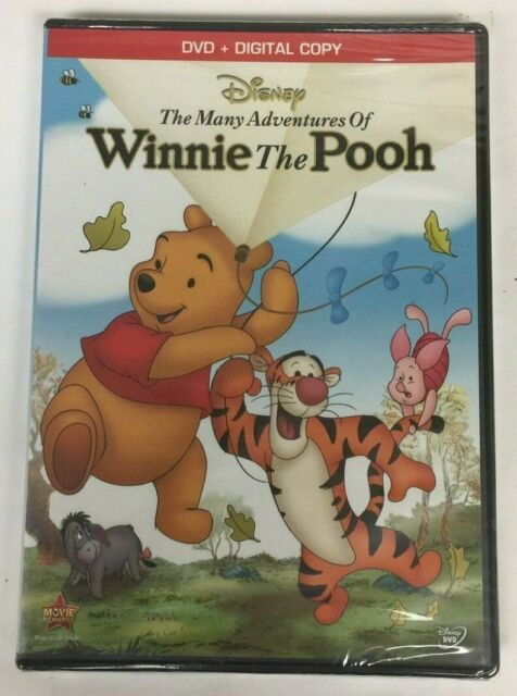 the many adventures of winnie the pooh dvd 2013 for