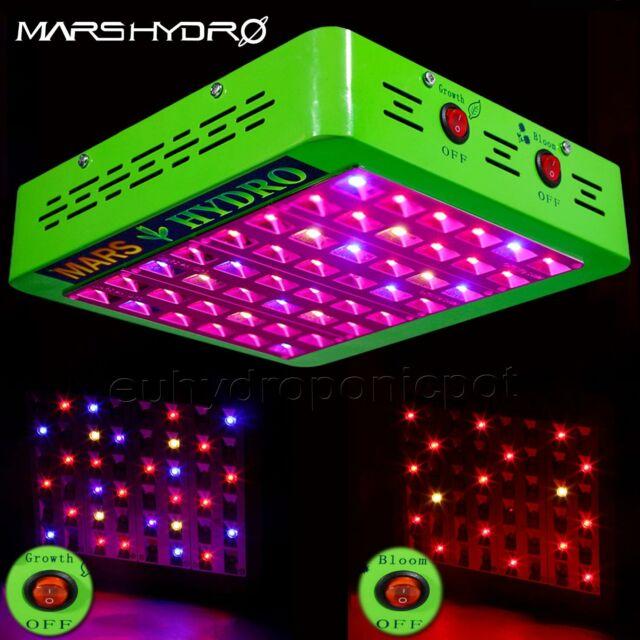 Mars Hydro Reflector 300W LED Grow Light Full Spectrum Indoor Plants Replace HPS