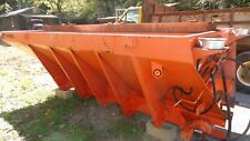 Warren Salt Sand Spreader 87 Yard Hydraulic Operation Chasis Or Dump Bed Mount
