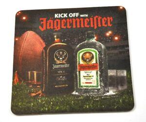 Jagermeister-EE-UU-posavasos-de-cerveza-Base-COASTER-Futbol-Americano-KICK-OFF