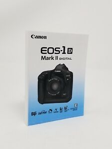 Canon EOS 1D Mark II SLR Instruction Owners Manual Book NEW