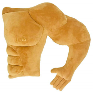 VACHICHI Muscle Man Arm Body Pillow