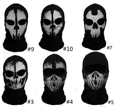 Balaclava face skull mask ghost bike skateboard Hood Cos Costume Call of Duty 10
